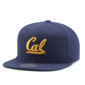 Бейсболка Mitchell & Ness - California Golden Bears Wool Soild Snapback