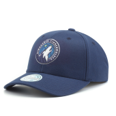 Бейсболка Mitchell & Ness - Minnesota Timberwolves Team Logo Low Pro Snapback