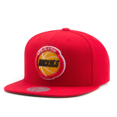 Бейсболка Mitchell & Ness - Houston Rockets Wool Soild Snapback