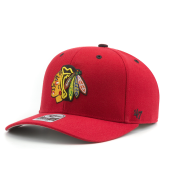 Бейсболка '47 Brand - Chicago Blackhawks Audible '47 MVP DP