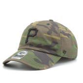 Бейсболка '47 Brand - Pittsburgh Pirates Camo Unwashed '47 Clean Up