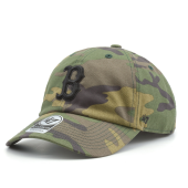 Бейсболка '47 Brand - Boston Red Sox Camo Unwashed '47 Clean Up
