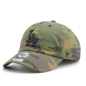 Бейсболка '47 Brand - Los Angeles Dodgers Camo Unwashed '47 Clean Up