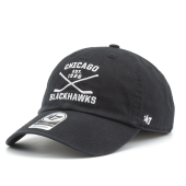 Бейсболка '47 Brand - Chicago Blackhawks Axis '47 Clean Up