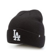 Шапка '47 Brand - Los Angeles Dodgers Raised Cuff (black)