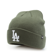 Шапка '47 Brand - Los Angeles Dodgers Raised Cuff (moss)