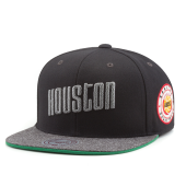 Бейсболка Mitchell & Ness - Houston Rockets Melange Patch Snapback