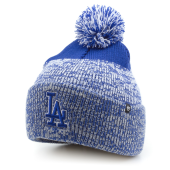 Шапка '47 Brand - Los Angeles Dodgers Static Cuff Knit