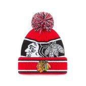 Шапка Outerstuff - Chicago Blackhawks Grinder Cuff Knit