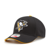 Бейсболка Outerstuff - Pittsburgh Penguins Basic Struct Adjustable