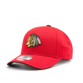 Бейсболка Outerstuff - Chicago Blackhawks Basic Struct Adjustable