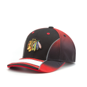 Бейсболка Outerstuff - Chicago Blackhawks Center Struct Adjustable