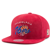 Бейсболка Mitchell & Ness - Philadelphia 76ers All Net Snapback