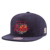 Бейсболка Mitchell & Ness - Houston Rockets All Net Snapback