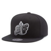Бейсболка Mitchell & Ness - Seattle Supersonics Wool Solid (b/w) Snapback