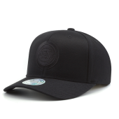 Бейсболка Mitchell & Ness - Detroit Pistons Black On Black 110 Snapback