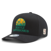 Бейсболка Mitchell & Ness - Seattle Supersonics Team Logo 110 Snapback
