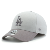 Бейсболка '47 Brand - Los Angeles Dodgers '47 MVP Two Tone (steel grey)