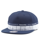 Бейсболка Mitchell & Ness - M&N Block Snapback (navy/white)