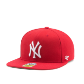 Бейсболка '47 Brand - New York Yankees Youth No Shot Snapback (red)