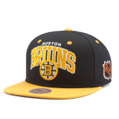 Бейсболка Mitchell & Ness - Boston Bruins Team Arch 2 Tone Snapback