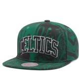 Бейсболка Mitchell & Ness - Boston Celtics Process Snapback
