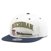 Бейсболка Mitchell & Ness - Michigan Wolverines Dunk Snapback