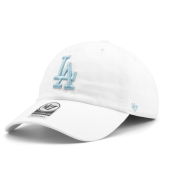 Бейсболка '47 Brand - Los Angeles Dodgers Clean Up (white)