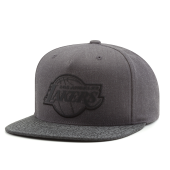 Бейсболка Mitchell & Ness - Los Angeles Lakers Cracked Reflective Snapback