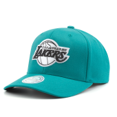 Бейсболка Mitchell & Ness - Los Angeles Lakers Teal Snapback