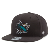 Бейсболка '47 Brand - San Jose Sharks No Shot Snapback