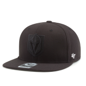 Бейсболка '47 Brand - Vegas Golden Knights No Shot Snapback (black/black)