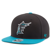 Бейсболка '47 Brand - Florida Marlins No Shot 2 Tone Snapback