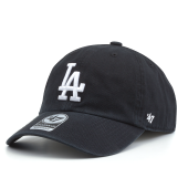 Бейсболка '47 Brand - Los Angeles Dodgers Clean Up (black)