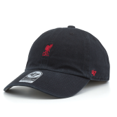 Бейсболка '47 Brand - Liverpool FC Base Runner Clean Up (black)