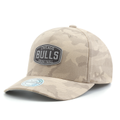Бейсболка Mitchell & Ness - Chicago Bulls Khaki Camo