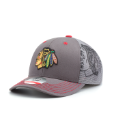 Бейсболка Outerstuff - Chicago Blackhawks Structured Meshback Adjustable Youth
