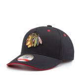 Бейсболка Outerstuff - Chicago Blackhawks Alt Basic Precurved Snapback Youth