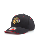 Бейсболка Outerstuff - Chicago Blackhawks Alt Basic Precurved Snapback Kids