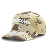 Бейсболка Mitchell & Ness - Pinscript High Crown 110 Snapback (Desrt Camo)