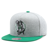 Бейсболка Mitchell & Ness - Boston Celtics Heather Fleece 2 Tone Pinch Snapback
