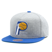 Бейсболка Mitchell & Ness - Indiana Pacers Heather Fleece 2 Tone Pinch Snapback
