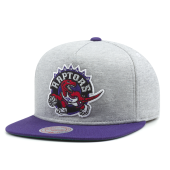 Бейсболка Mitchell & Ness - Toronto Raptors Heather Fleece 2 Tone Pinch Snapback