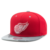 Бейсболка Mitchell & Ness - Detroit Red Wings Paintbrush Visor Snapback