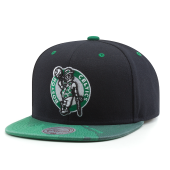 Бейсболка Mitchell & Ness - Boston Celtics Paintbrush Visor Snapback