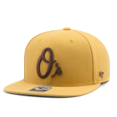 Бейсболка '47 Brand - Baltimore Orioles No Shot Snapback (wheat)