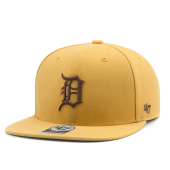 Бейсболка '47 Brand - Detroit Tigers No Shot Snapback (wheat)