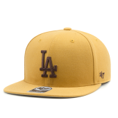 Бейсболка '47 Brand - Los Angeles Dodgers No Shot Snapback (wheat)