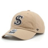 Бейсболка '47 Brand - Chicago White Sox Chain Link '47 Clean Up (khaki)