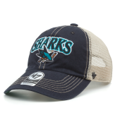 Бейсболка '47 Brand - San Jose Sharks Tuscaloosa '47 Clean Up